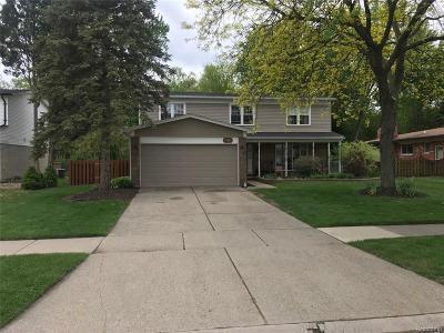 Troy Single Family Home For Sale: 1386 Glenwood Dr