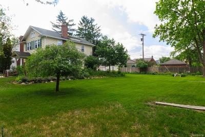 Royal Oak Residential Lots & Land For Sale: W Hudson