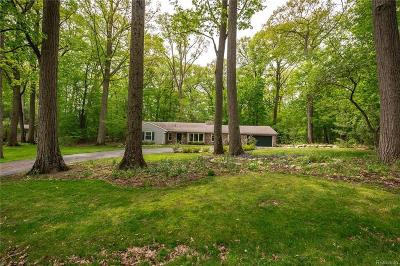 Bloomfield Hills Residential Lots & Land For Sale: 6145 Idlewyle Rd
