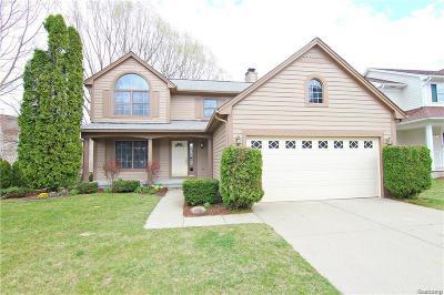 Auburn Hills Single Family Home For Sale: 3695 Eaton Gate Lane