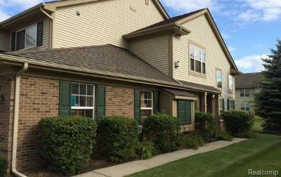 Auburn Hills Condo/Townhouse For Sale: 214 N Vista Dr