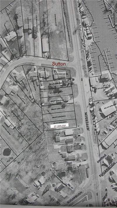 Residential Lots & Land For Sale: Jefferson Ave.