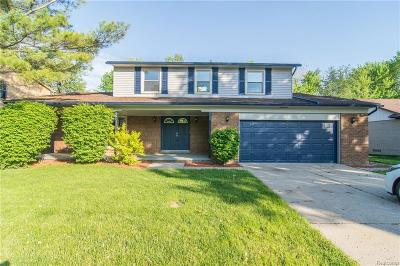 Sterling Heights Single Family Home For Sale: 42325 Mayhew Dr