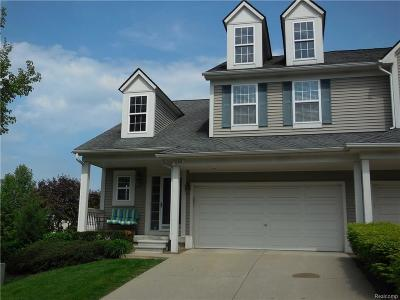 Rochester Hills Condo/Townhouse For Sale: 698 Bluff Crt