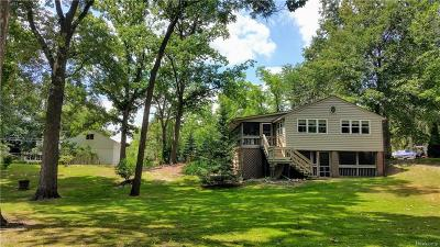 Single Family Home For Sale: 41528 Utica Rd