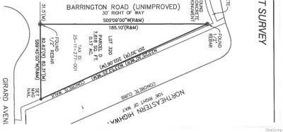 Residential Lots & Land For Sale: 30125 Northeastern