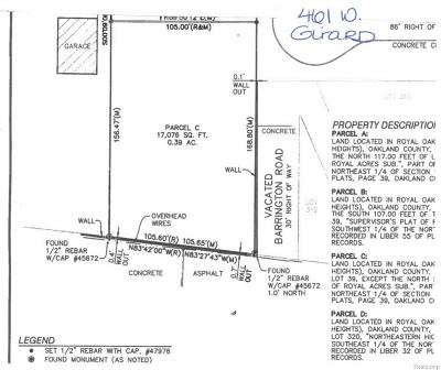 Residential Lots & Land For Sale: 461 W Girard