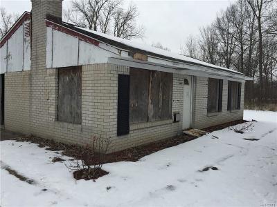 Belleville Single Family Home For Sale: 26020 Martinsville Rd