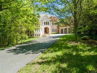 West Bloomfield Single Family Home For Sale: 5573 Middlebelt Rd