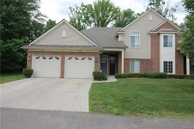 Shelby Twp Condo/Townhouse For Sale: 3503 Eagle Creek Dr