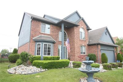 Clinton Township Single Family Home For Sale: 40655 Canterbury Dr