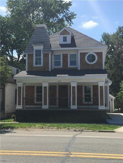 Royal Oak Single Family Home For Sale: 413 N Washington Ave