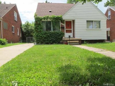 Harper Woods Single Family Home For Sale: 20886 Lancaster St