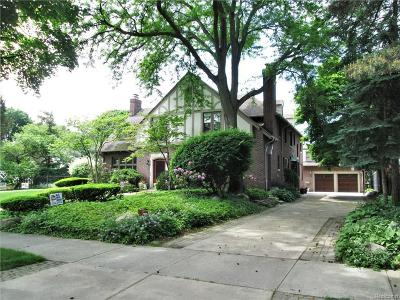 Grosse Pointe Single Family Home For Sale: 283 Lincoln Rd