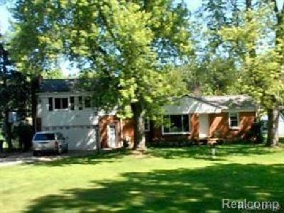 Lake Orion Single Family Home For Sale: 2148 Cole Rd