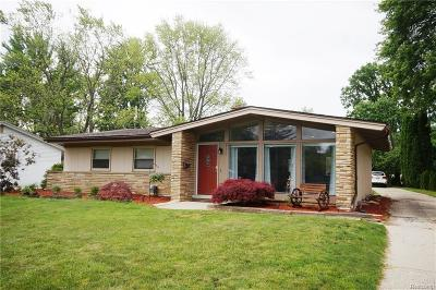 Southfield Single Family Home For Sale: 29315 Southgate Dr