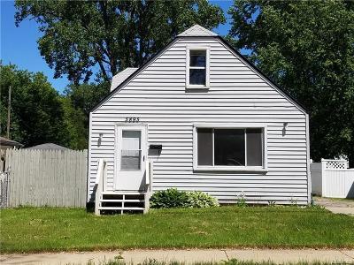 Taylor Single Family Home For Sale: 5895 Vivian St