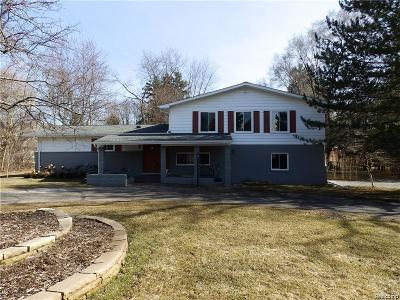 Bloomfield Hills Single Family Home For Sale: 5795 Inkster Rd