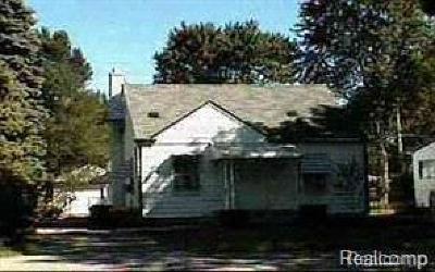 Southfield Single Family Home For Sale: 27034 Shiawassee Rd