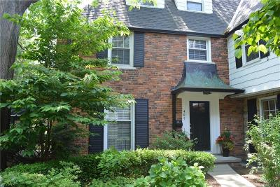Grosse Pointe Single Family Home For Sale: 405 Rivard Blvd