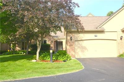 Shelby Twp Condo/Townhouse For Sale: 2202 Elm Cir