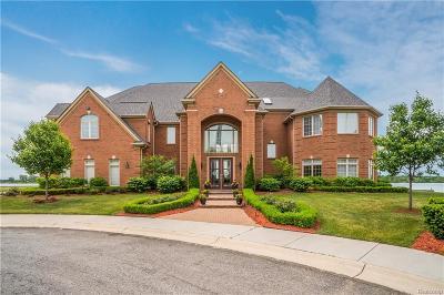 Detroit Single Family Home For Sale: 2 Sand Bar Ln