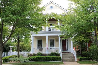Canton Single Family Home For Sale: 612 Filmore St