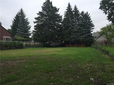 Birmingham Residential Lots & Land For Sale: 1231 Cedar (Lot Only)