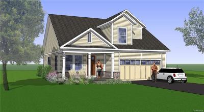 Westland Single Family Home For Sale: 23 Hawthorne Oaks Dr