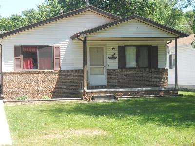 Algonac Single Family Home For Sale: 9109 Island Dr