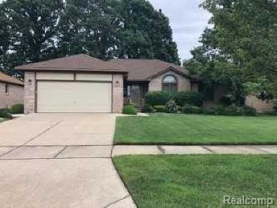Macomb Single Family Home For Sale: 48236 Thorncroft Dr