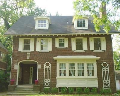 Detroit Single Family Home For Sale: 1529 W Boston Blvd