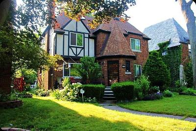 Detroit Single Family Home For Sale: 16842 Warwick St