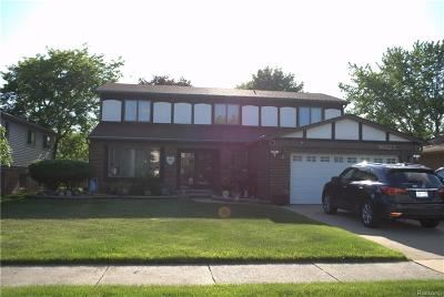 Sterling Heights Single Family Home For Sale: 36623 Iroquois Dr. Dr