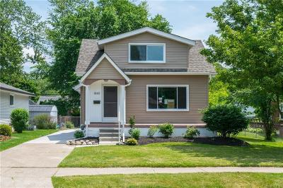 Berkley Single Family Home For Sale: 3142 Griffith Ave