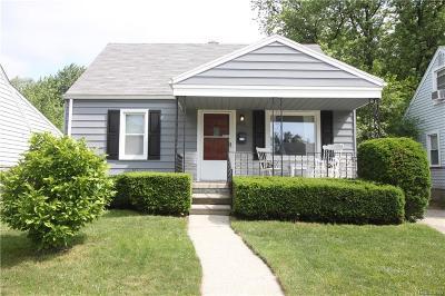 Royal Oak Single Family Home For Sale: 1411 Donald Ave