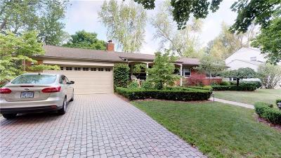 Birmingham Single Family Home For Sale: 590 Wellesley St