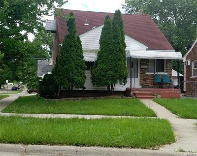 Lincoln Park Single Family Home For Sale: 1809 Regina Ave