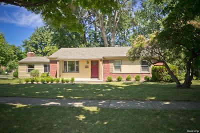 Birmingham Single Family Home For Sale: 1819 W Melton Rd