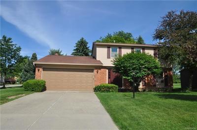 Rochester Hills Single Family Home For Sale: 777 Dressler Ln
