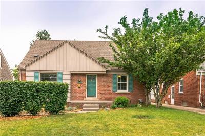 Royal Oak Single Family Home For Sale: 2117 N Wilson Ave