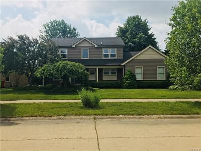 Macomb Single Family Home For Sale: 17768 Thomas