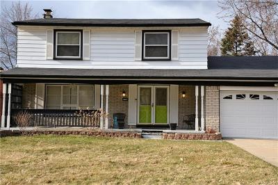 Southfield Single Family Home For Sale: 21750 Winchester St