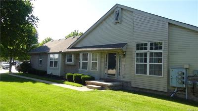 Sterling Heights Condo/Townhouse For Sale: 41024 Bermuda Dr