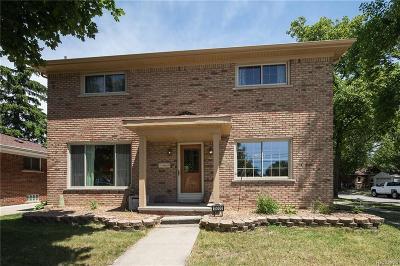 Allen Park Single Family Home For Sale: 15000 Markese Ave