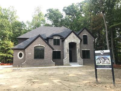 Farmington Hills Single Family Home For Sale: 1 Halsted - Parcel A Rd