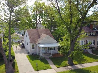 Berkley Single Family Home For Sale: 3146 Kipling Ave