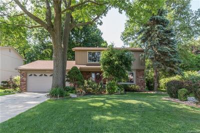 Rochester Single Family Home For Sale: 713 Denham Ln