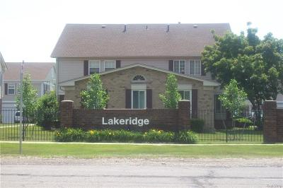 Harrison Twp Condo/Townhouse For Sale: 26010 N Lake Dr