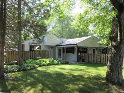 Oakland Single Family Home For Sale: 2298 Glen Iris